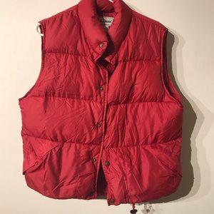 L.L. Bean Jackets & Coats - LL bean vest marron pre owned